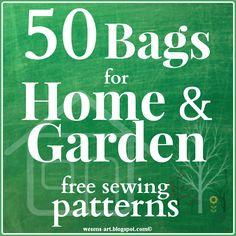 50 Bags for Home & Garden