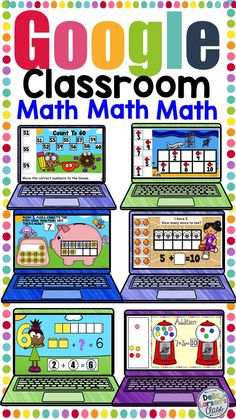 Interactive math games that can be used on the SMARTboard 1st Grade Math, Elementary Math, Kindergarten Classroom, Classroom Activities, Teaching Math, Kindergarten Readiness, Classroom Ideas, Learning Activities, Google Classroom