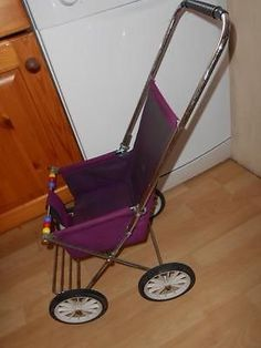 vintage-dolls-pushchair-buggy-rare-metal-old-fashioned