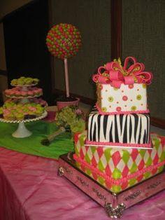 Another Fun Wedding Cake!!!