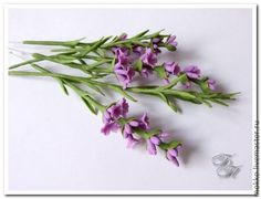 Air Dry Clay Tutorials: Craft Some Lavender Sprigs with Air Dry Clay
