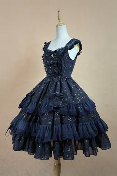 Souffle Song Wishing Stars Lolita Dress JSK - Design 1