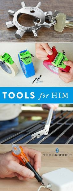 Great gifts for him and Father's Day gifts to impress fixers and tinkerers.