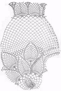 Tablecloth Lotus Flowers  crochet schemes