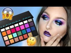 BEST PALETTE EVER?! NO BULLSH*T HONEST REVIEW | SEPHORA PRO EDITORIAL PALETTE | Swatches & Tutorial - YouTube Makeup Palette, Eyeshadow Palette, Sephora Pro Palette, Henna Leaves, Types Of Foundation, Makeup Challenges, Hair Again, Body Powder, Love Your Hair