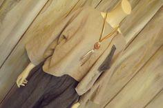 Lagenlook+Linen+Crop+Jacket+Boxy+Natural+di+bluemermaiddesigns,+$44.00