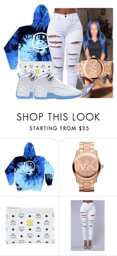 """"" by saditydej ❤ liked on Polyvore featuring Michael Kors and MCM"