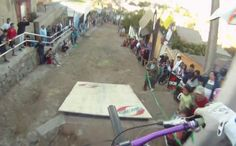 Wow!  Feels like I did it!!!!   Really nice video of the 2010 VCA downhill mountain bike race in Valparaiso, Chile.