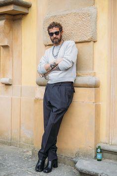 Fashion legend Stefano Pilati.