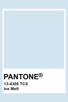 Pantone Tcx, Pantone Swatches, Color Swatches, Ice Blue Color, Blue Colour Palette, Colour Schemes, Pantone Color Chart, Pantone Colour Palettes, Color Balance