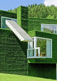 The Green House in Austria, by Reinhold Weichlbauer and Albert Ortis.