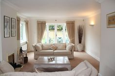 almond white living room - Google Search