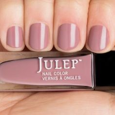 Julep Malala. Dusty pink mauve nail polish.  Classic with a twist.
