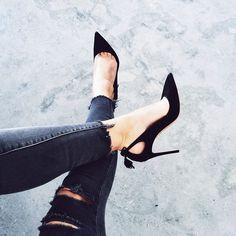 Black on black. So classic.