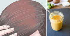 Use este remédio natural e elimine seus cabelos brancos sem precisar de tintura - Natureza que cura Grey Hair Reversal, Grey Hair Treatment, Reverse Hair Loss, Get Thicker Hair, Fuller Hair, White Hair, Gray Hair, Tips Belleza, How To Make Hair