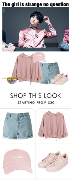 """""""🍜Having Dinner With Yoongi🍜"""" by fantasy-lover-0719 ❤ liked on Polyvore featuring Miss Selfridge, Chicnova Fashion and Topshop"""