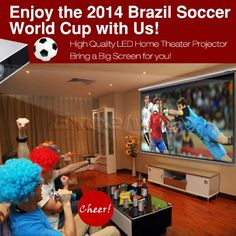 Amazon.com: Floureon® HD LED Projector Cinema Theater PC&Laptop AV/VGA/HDMI/USB/TV input US Plug: Electronics