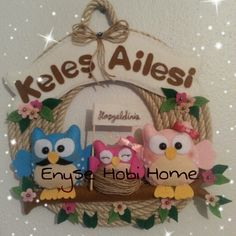 Enyse Hobi Home ; Kapı süsü