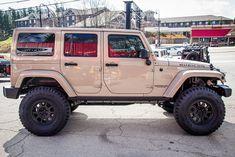 Tan Jeep Wrangler, Jeep Rubicon, Jeep Jk, Jeep Wrangler Unlimited, Jeep Wrangler Custom, Jeep Wrangler Colors, Green Jeep, Black Jeep, Pink Jeep