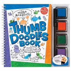 The Most Amazing Thumb Doodles in the History of the Civilised World Klutz: Amazon.co.uk: Klutz Press: Books