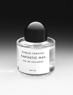 \\ 100 ML Fantastic Man by Byredo Parfums Eau De Cologne, Packaging Design, Perfume Bottles, Product Photography, Fragrance, Exhibit, Beauty Products, Ss, Package Design