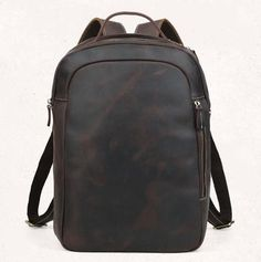 Vintage Style Shoulder Bag, Top Grain Leather Travel Bag, Backpack CN3072 - echopurse