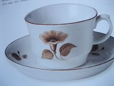 Arabia Tea Sets Vintage, Retro Vintage, Kitchenware, Tableware, Flower Tea, Marimekko, Teacups, Scandinavian Style, Finland