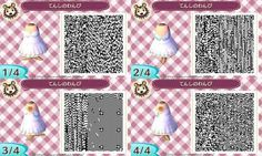 Anima Crossing New Leaf QR Code Dress ^^