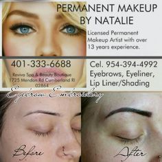 Eyebrow Embroidery at Reviva Spa and Beauty Boutique 401-333-6688