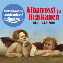 Albatrossi ja Heiskanen riemastuttavan hauska ja liikuttavan koskettava musiikkinäytelmä. Sen on kirjoittanut Jukka Virtanen, jonka napakka teksti imaisee katsojat mukaansa Juha 'Junnu' Vainion elämänläheisistä ja koskettavista lauluista koostuvassa näytelmässä.