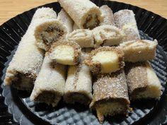 Domácí kokosový kmen jako z pouti | recept. Pro milovníky kokosových suků z pouti je určen následující recept. Kokosovou Russian Recipes, Eid, French Toast, Cheesecake, Food And Drink, Cooking Recipes, Sweets, Drinks, Breakfast