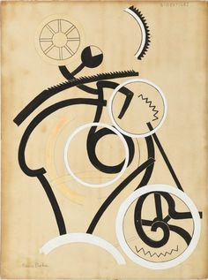 """igormaglica: """" Francis Picabia (1879-1953), Bissextiles, 1922. ink and gouache on paper mounted to board, 75 x 56 cm """""""