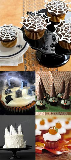 halloween cupcakes!  Next year I will be totally ready for the cake walk!  woot!