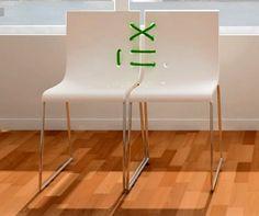 Siamesas Chair design by Covitaca