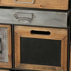 Bloomsbury Market Rolfe 17 Drawer Accent Chest | Wayfair Accent Chest, Honey Colour, Wood Drawers, Galvanized Metal, Bloomsbury, Accent Pieces, Wood Grain, Natural Wood, Solid Wood