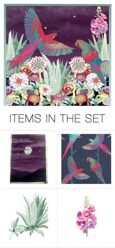 """""""Colours of the Garden"""" by ollie-and-me ❤ liked on Polyvore featuring art"""
