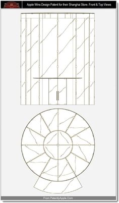Apple Staircase Patent #applestorearchitectureretail Pinned by www.modlar.com