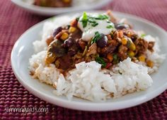 Turkey Chilli | Slimming Eats - Slimming World Recipes Sounds lovely!