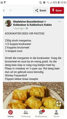 Braai Recipes, Meat Recipes, Cooking Recipes, Curry Recipes, Appetizer Recipes, Savoury Baking, Savoury Dishes, Kos, Ma Baker