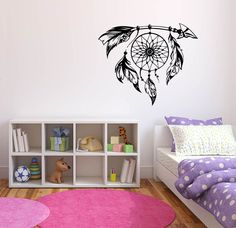 Dreamcatcher Arrow Wall Decal