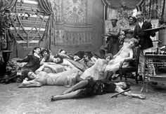 Opium den-they certainly look very relaxed !