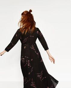 Image 2 de ROBE À IMPRIMÉ FLORAL de Zara