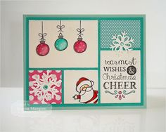 Christmas Card By Regina Mangum #Christmas, #Cardmaking, #CuttingPlates