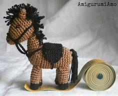AmigurumiAmo: mini cavallo amigurumi, mini amigurumi horse
