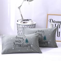 Color: White, gray Material: Cotton Size: L*W: Type: 1 2 3 4 5 6 Home Design Decor, House Design, Home Decor, Throw Pillow Cases, Throw Pillows, Baby Boy, Cushions, Type 1, Cover