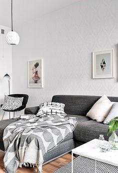 Via Coco Lapine | Grey and White | House of Rym Blanket