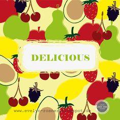 "Illustration Friday ""Delicious"" by Evelyn Lara'Ana Rosner"