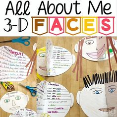 This All About Me activity makes the cutest bulletin board display. Students love guessing who is who and reading ab… All About Me Preschool Theme, All About Me Crafts, All About Me Art, All About Me Activities, Back To School Activities, Preschool Activities, Math About Me, Teacher Bulletin Boards, Bulletin Board Display