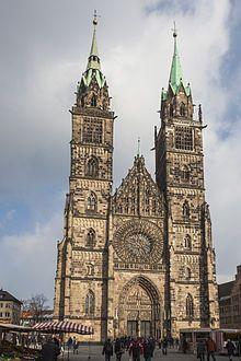 Núremberg - Iglesia de San Lorenzo.