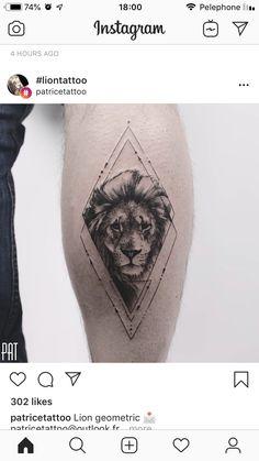 (notitle) – Michal Brami – Willkommen bei Pin World Sketch Tattoo Design, Lion Tattoo Design, Henna Tattoo Designs, Tattoo Sketches, Dreieckiges Tattoos, Lion Head Tattoos, Body Art Tattoos, Tatoos, Small Forearm Tattoos